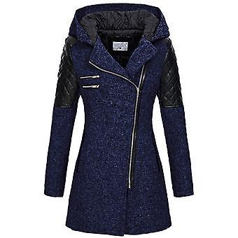 Vinter varm, tykk Parka, Streetwear Full Lappeteppe Glidelås