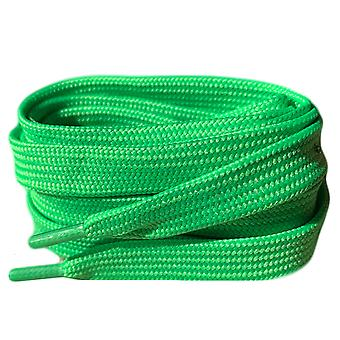 Neon Green Flat Trainer Shoelaces Laces