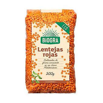 Red Lentils for Puree Bio 500 g