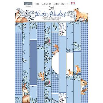 The Paper Boutique - Winter Wonders Collection - Insert Collection