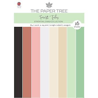 The Paper Tree - Forest Tales Collection - A4 - Essential Colour Card