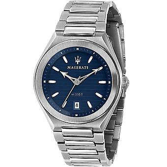 Mens Watch Maserati R8853139002, Kvarts, 40mm, 10ATM