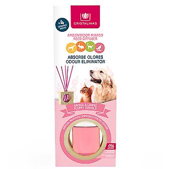Cristalinas Mikado absorbs pet odours Crystal clear aroma 30 ml