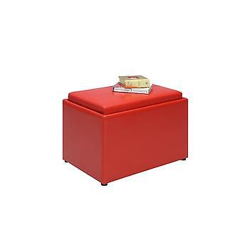 Designs4Comfort Accent Storage Ottoman - R8-162
