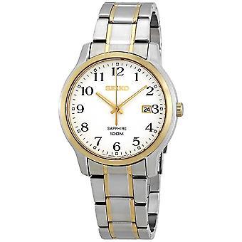 Seiko Sapphire Silver Dial Men's Watch SGEH68P1