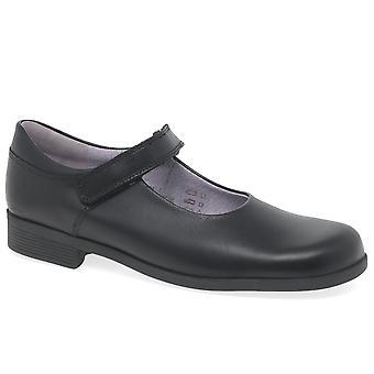 Startrite Samba piger sort Mary Jane skole sko
