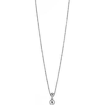 Collana perla Adriana Freshwater White 7-8 mm Rodio d'argento 50 cm P2