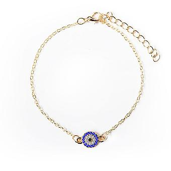 Gold Silver Color Ankle Chain Crystal Eye Of Anklets