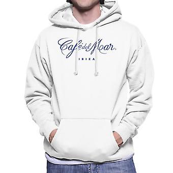 Cafe del Mar Classic Blue Logo Men's Hooded Sweatshirt