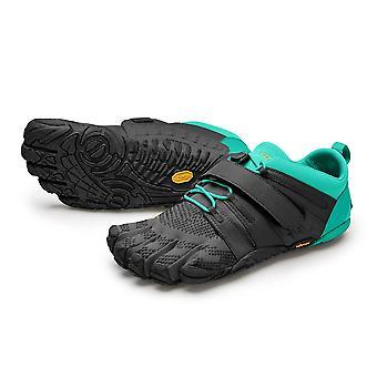 V-TRAIN 2.0 Womens Training Five Fingers Barefoot Feel Shoes Trainers - Black/Green