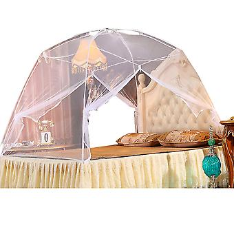 Mosquitero, Mosquiteros domo de verano, puerta doble plegable, para la cama