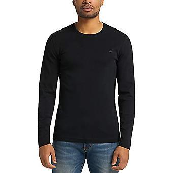 Mustang Anton B Basic T-Shirt, Black, L Man