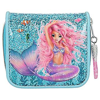 Depesche 10981 - Wallet Fantasy Model Mermaid, Blue, ca. 3 x 12 x 10 cm