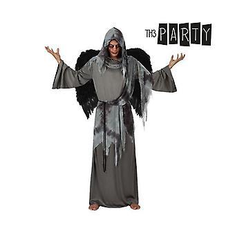 Kostym för vuxna 9361 Svart ängel (2 st)
