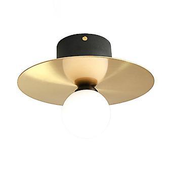 23cm Ceiling Light 220V LED Tricolor Light 5W LOFT Black Gold