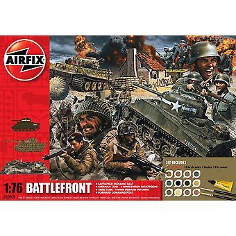 Airfix D-يوم جبهة القتال هدية مجموعة نموذج كيت