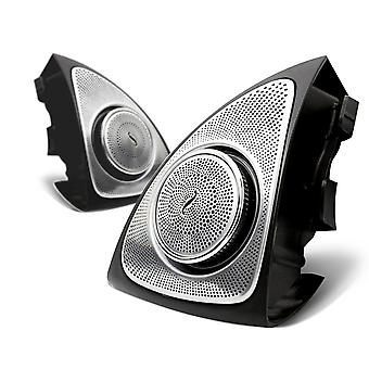 3d Rotation Light Tweeter For Mercedes Benz, Led Treble Speaker Audio Trumpet