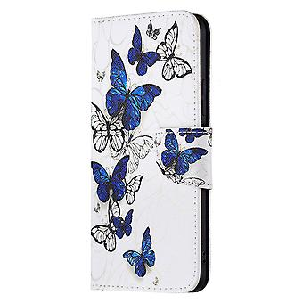 Xiaomi Mi 11 Lite Case Pattern Magnetic Protective Cover  Many Butterfly