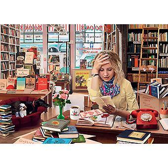 Ravensburger De verbijsterde boekhandelaar legpuzzel (1000 stukjes)