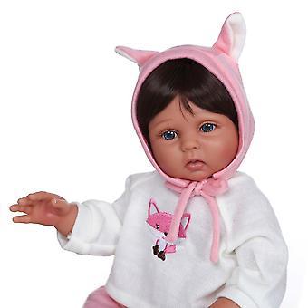 48Cm vízálló víz teljes test szilikon két bőrszín puha bőr fürdő játék újjászületett kislány kézzel készített baba