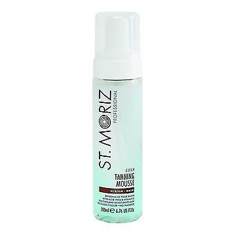 Sun Screen Mousse Professional St. Moriz Self-Tanning [Lotion/Spray/Milk] Medium Dark (200 ml)
