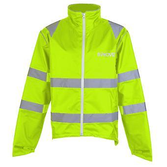 Proviz Nightrider Waterproof Jacket Yellow CE