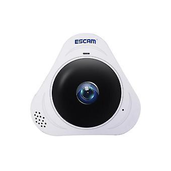 Q8 960P 1.3MP 360 Grader VR Fisheye WiFi IR infrarød IP-kamera Tovejs audio motion detector HVID