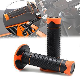 Barra de mango antideslizador de motocicleta de goma