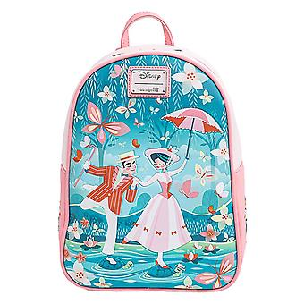 Loungefly Mini Backpack Mary Poppins Jolly Holiday new Official Disney Pink