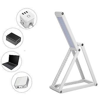 sammenleggbar led bordlampe - usb / batteri oppladbar bærbar bordlys