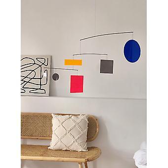 Géométrique graphique balance des couleurs suspension de luxe intérieur intérieur pendentif dynamique