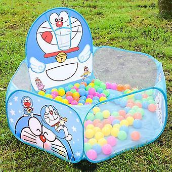遊ぶ テントトンネル1.2M素敵な漫画の子供の子供のボールプール子供の赤ちゃんオーシャンボールプールテント