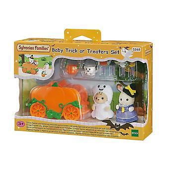 Puppets marionettes sylvanian families 5268 baby trick or treat set