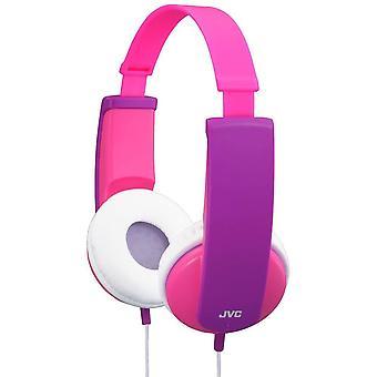 JVC Tiny Phones Kids Stereo Headphones - Pink (HAKD5P)