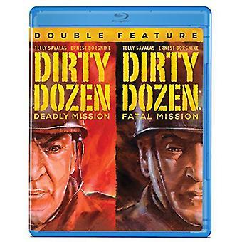 Dirty Dozen: De dodelijke missie / fatale missie [BLU-RAY] USA import