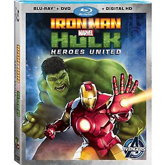 Iron Man & Hulk: Importer des Heroes USA États-Unis [BLU-RAY]