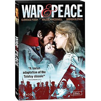 Guerre paix & [DVD] USA import