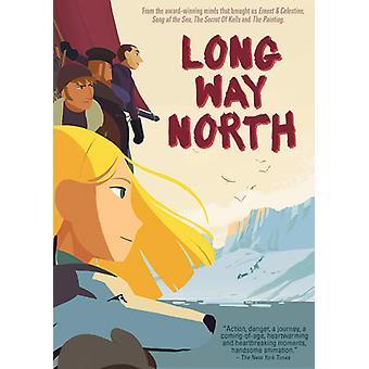Lang vei Nord [DVD] USA importere
