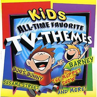 Kinder alle Zeit Lieblings TV-Themen - Kinder alle Zeit Lieblings TV Themen [CD] USA import