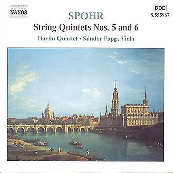 L. Spohr - Spohr: String Quintette Nr. 5 & 6 [CD] USA import