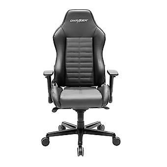 DX Racer DXRacer OH/DJ188/N High-Back Luxury Office Chairs Full Grain Leather(Black)