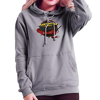 Tartaruga Brothers Teenage Mutant Ninja Turtles Raphael Women's Hooded Sweatshirt