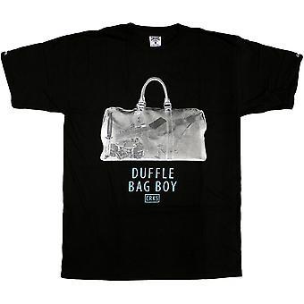 Crooks & Castles Duffle Bag T-Shirt Black