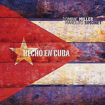 Dominic Miller - Hecho En Cuba [CD] USA import