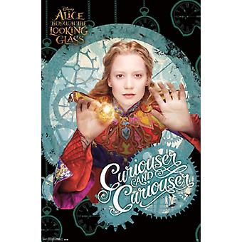 Alice in Wonderland 2 Through the Looking Glass - Alice Poster Print