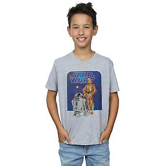 Star Wars pojat R2-D2 ja C-3PO t-paita