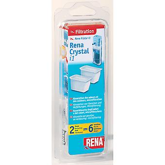 Mars Fishcare Rena Crystal Cartridges Size 1 (Pack of 2)