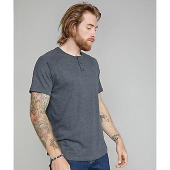 Superstar By Mantis Mens Organic Henley T-Shirt