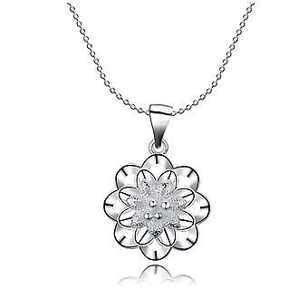 Star Snowflake Pendant Necklace