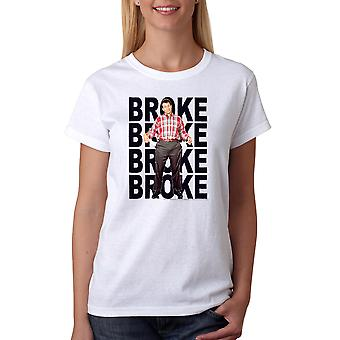 Married With Children Broke Repeat Women's White T-shirt